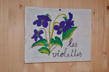 Chambre Les Violettes1